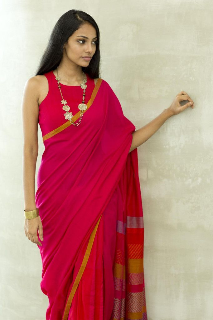 Lovely colour yet to get hold of a saree of this colour