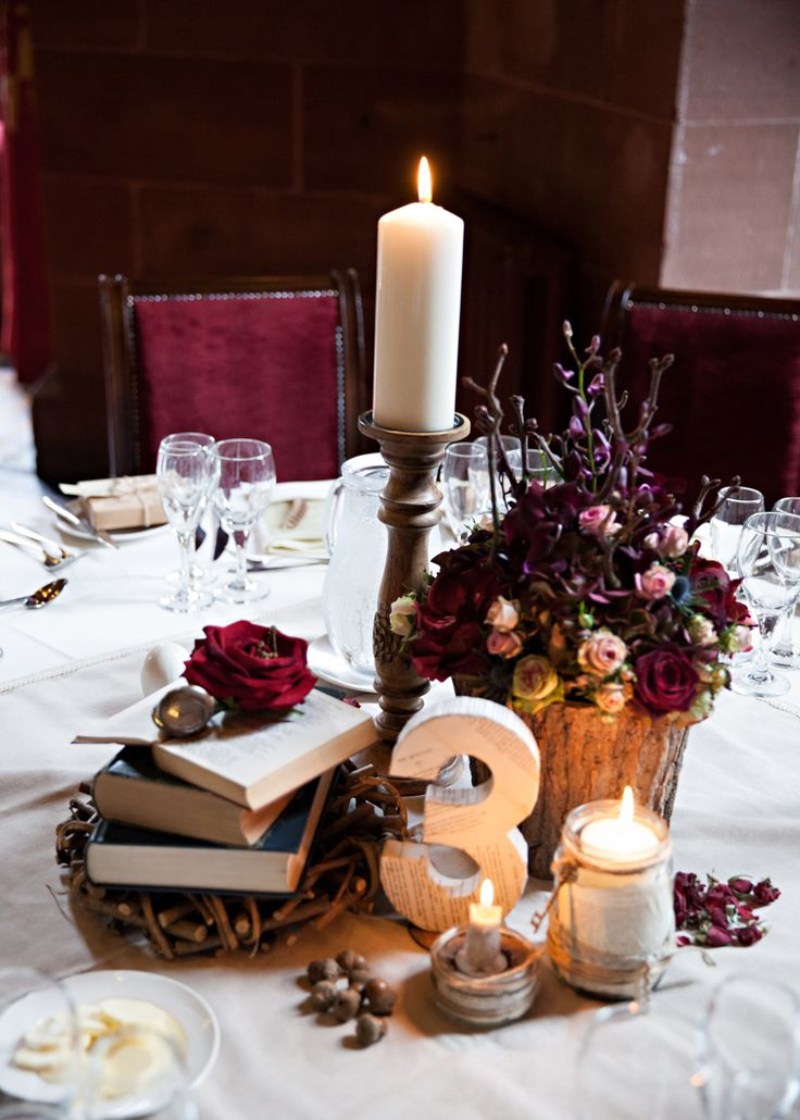 Dramatic Rich Rustic Harry Potter Wedding http://hbaphotography.com/