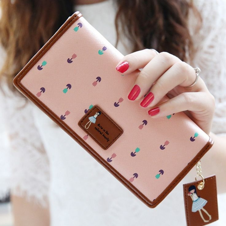 2015 Cute Girls Leather Women Wallets and Purses portefeuille femme wallet clutch purse carteras mujer portafoglio donna L406 Check more at http://clothing.ecommerceoutlet.com/shop/luggage-bags/coin-purses-holders/2015-cute-girls-leather-women-wallets-and-purses-portefeuille-femme-wallet-clutch-purse-carteras-mujer-portafoglio-donna-l406/