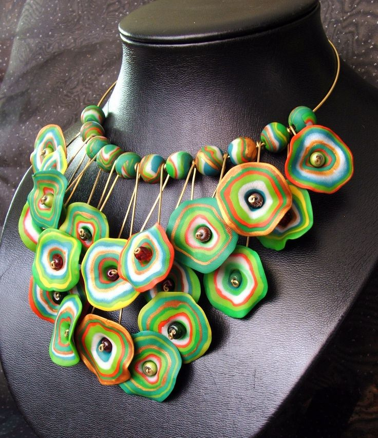 Polymer clay jewelry projects