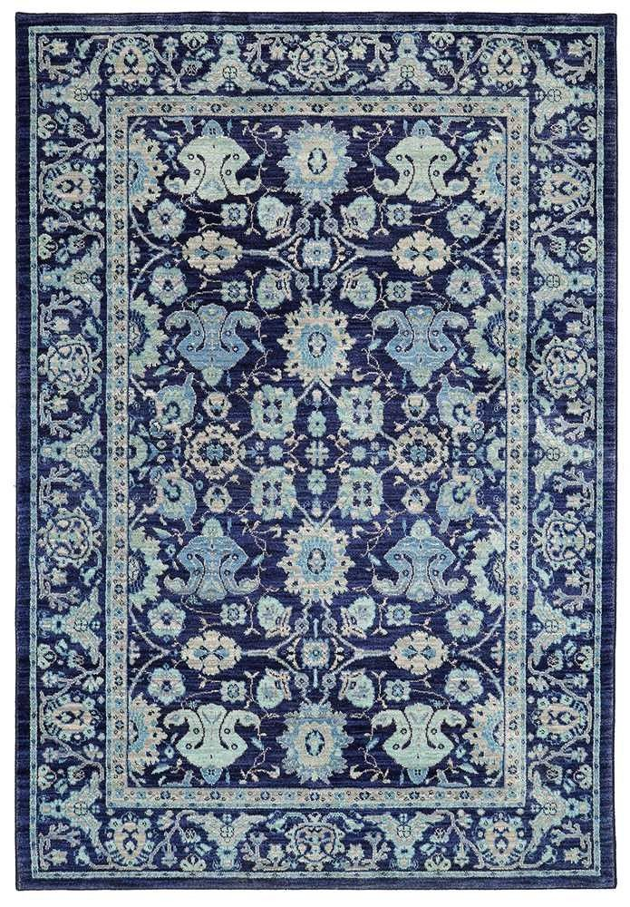Karastan Pacifica Voltaire Indigo Area Rug The Collection Is Newest And Finest Example Of American Innovation Ingenuity In Rugs From