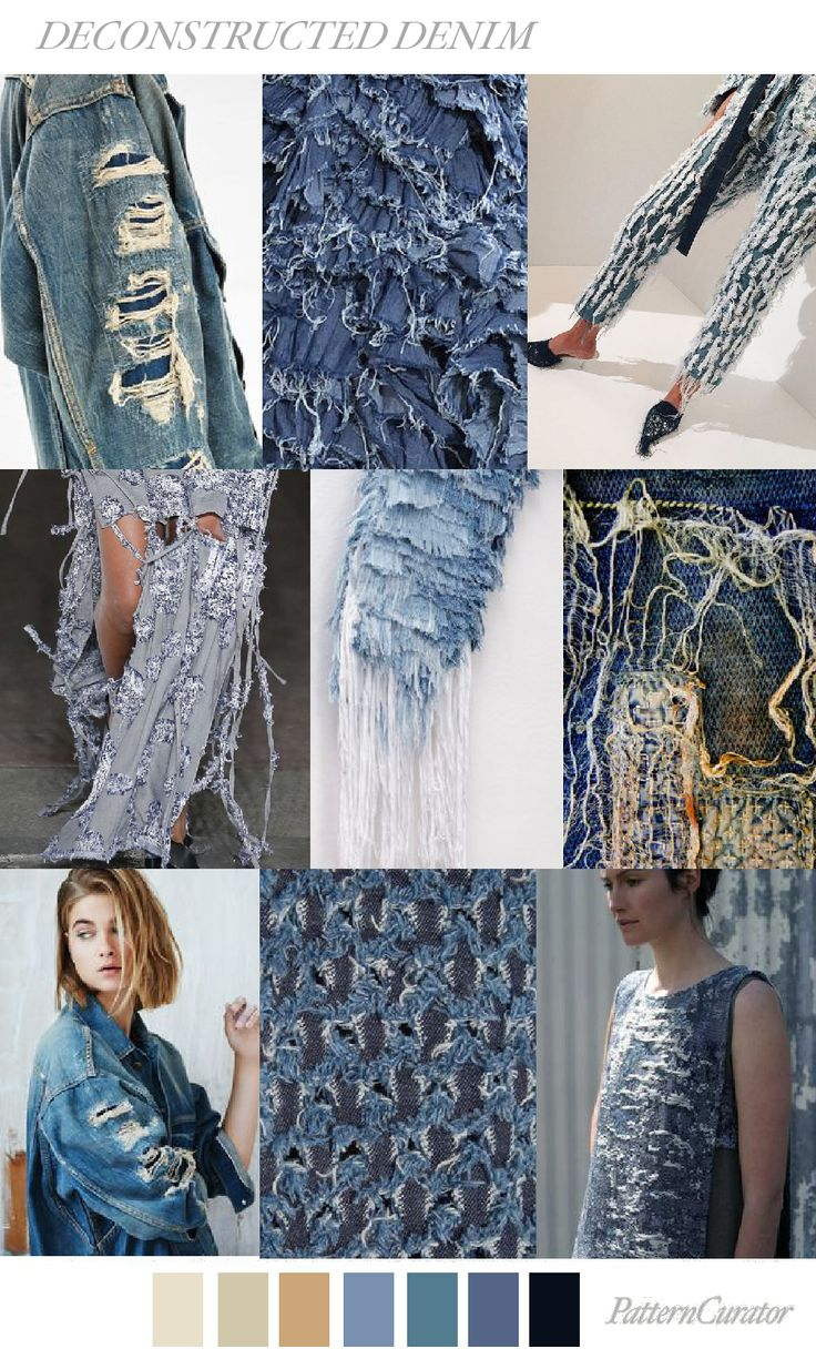 DECONSTRUCTED DENIM by PatternCurator