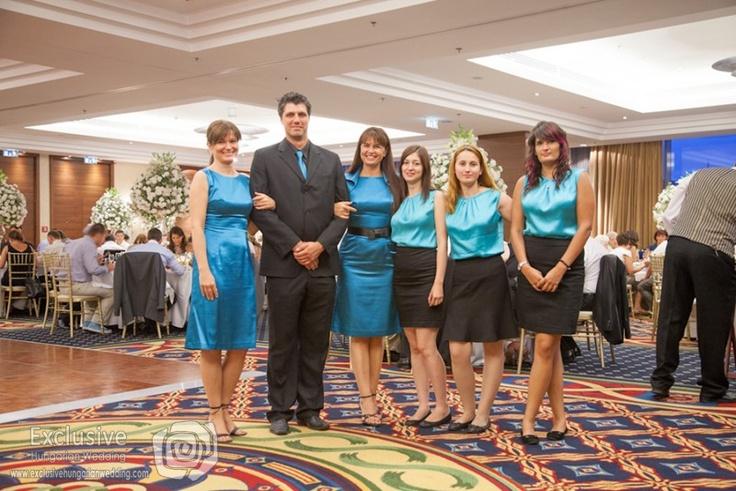 Our wedding coordinator team - Exclusive Hungarian Wedding.