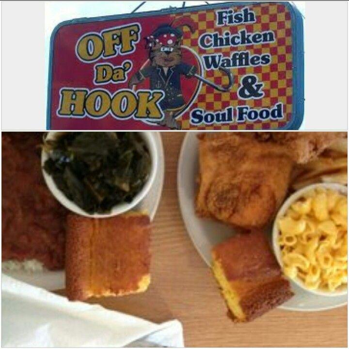 Off Da Hook Soul Food  1804 W Glendale Ave Phoenix, AZ 85021