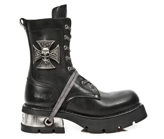 M 1623 s1 new rock high quality malta cross neo biker boot boots 7