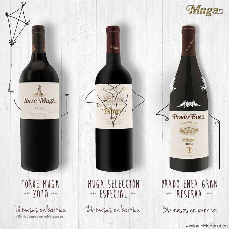 Siempre hay un #vino para cada ocasión. Con cuál te quedas? There is a #wine for every occasion... Which one would you choose?   #winechat #winelife #winelove #winesnob #winesnob #winetime #wineoclock #winecountry #winetasting #wineoftheday #wineonmytime #wineinmoderation #cheers #muga #Mugalover #experienciamuga #larioja #spain #tagsforlikes #igersspain #gastronomia #felizmiercoles #culturadelvino #enoturisme #mugaexperience #bodegasmuga