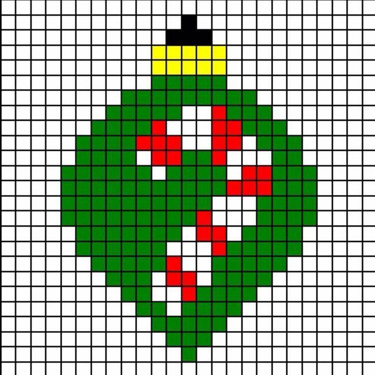 Bauble | Christmas c2c | Pinterest