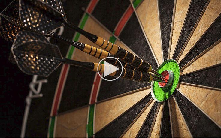 Du rammer bullseye hver gang på den magiske dartskive
