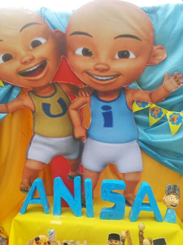 15 best upin ipin party images on pinterest fiesta party party centerpiece upin ipin stopboris Image collections