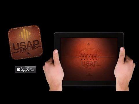 Vidéo de présentation de l'application Ipad pour notre partenaire, l'USAP.