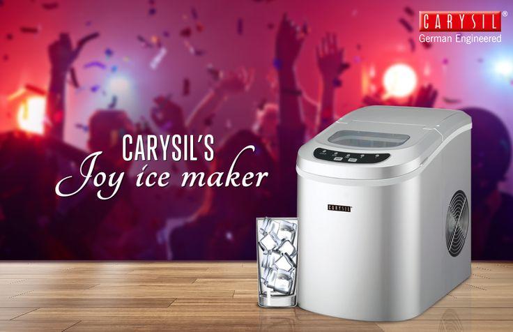 Feel Like Winters in Summers! #CarysilKitchen #IceMaker #Kitchen