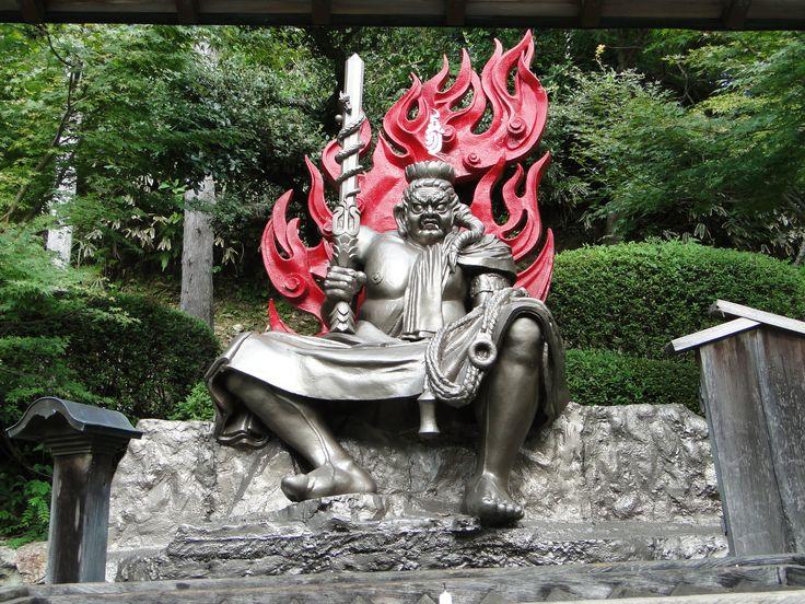 法多山尊永寺の不動明王像