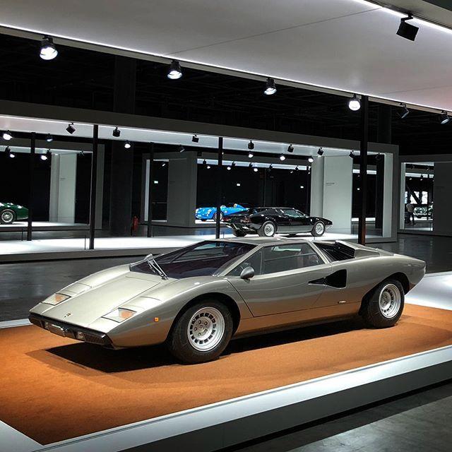 This 1974 Lamborghini Countach LP400 was part of the 2018
