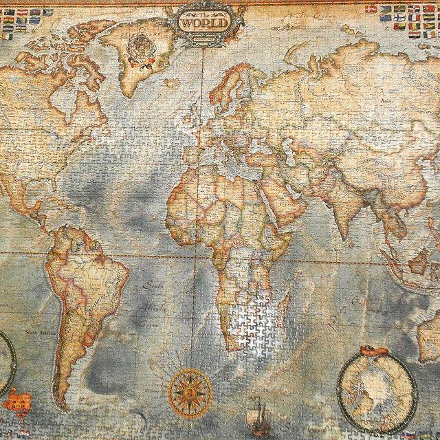 26 best rompecabezas educa images on pinterest puzzles jigsaw este puzzle de 4000 piezas es un atlas con una capacidad de detalle sorprendente en gumiabroncs Images