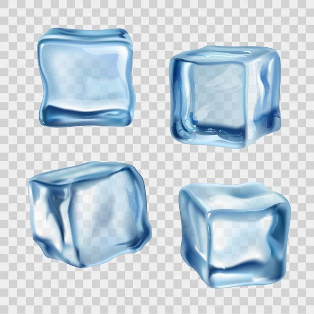 Lade Eiswurfel Blau Transparent Kostenlos Herunter Ice Cube Cube Bottle Mockup
