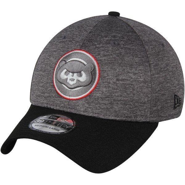 quality design 5363d eebff Men s Chicago Cubs New Era Heathered Gray Black 39THIRTY Shadow Tech Color  Pop Flex Hat, Your Price   29.99