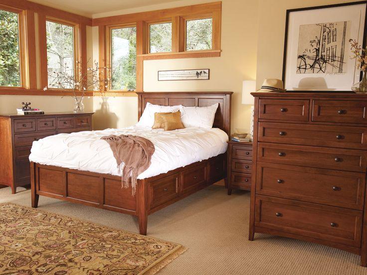 Best Solid Wood Bedroom Furniture Images On Pinterest Wood