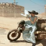 'Stardust' Edie Campbell & Otis Ferry by Peter Lindbergh for US Vogue May 2013 [Editorial]