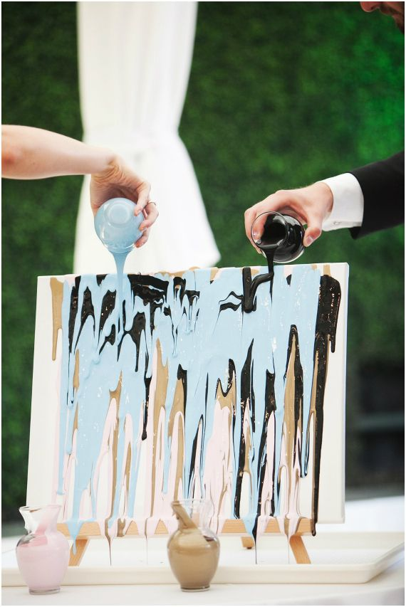 Perfect Wedding Unity Ideas. See More. Painting Ceremony Instead Of A Sand Ceremony    Say I Do And Create Art Together At