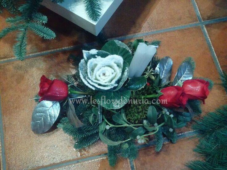 Centre de taula per al Nadal