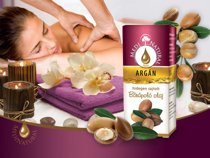 MediNatural Argán hidegen sajtolt bőrápoló olaj 20ml