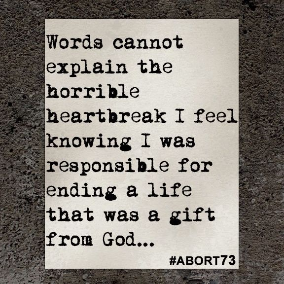 This abortion story came to Abort73 through our online submission form and was received from Georgia on October 8, 2015.