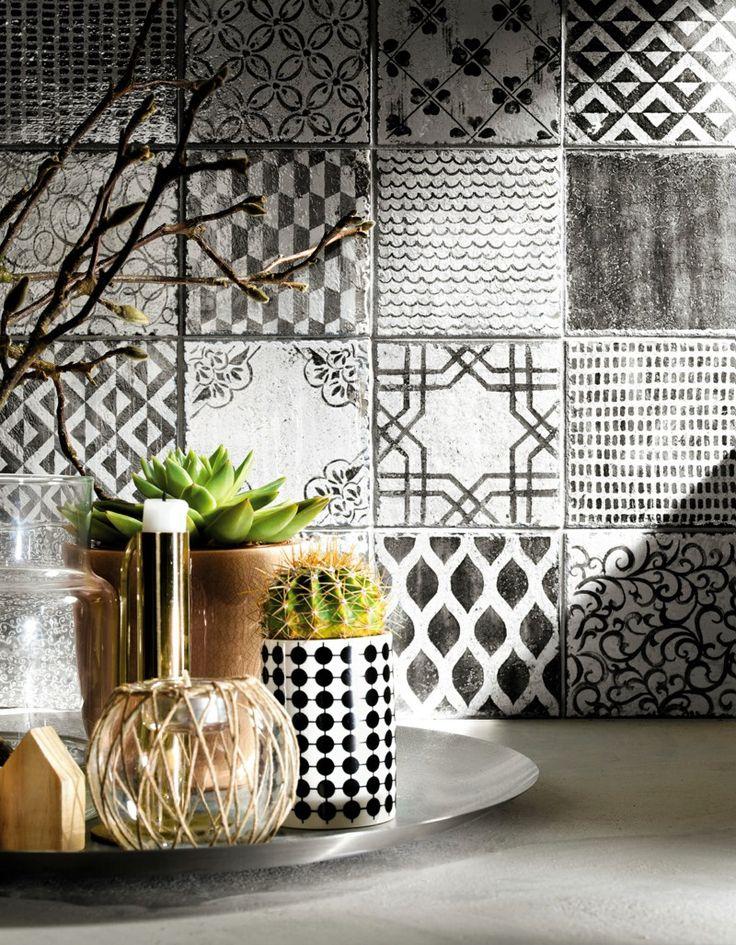 die besten 25 wandfliesen k che ideen auf pinterest modernes k chendesign neues k chendesign. Black Bedroom Furniture Sets. Home Design Ideas