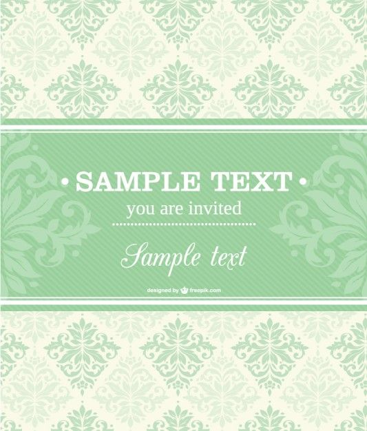 233 best wedding images on pinterest invitations vectors and vector invitation floral design stopboris Image collections