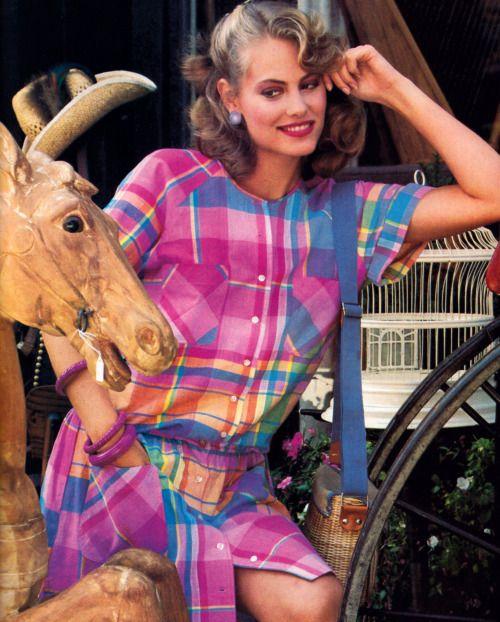 Crazy Horse, Mademoiselle magazine, March 1984.