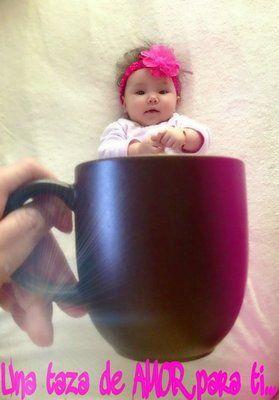 bebs dentro de tazas