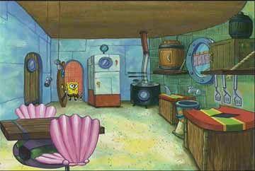 Spongebob Squarepants Kitchen Tv Shows Kitchens