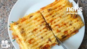 Sucuklu Patates Tost Tarifi - Nefis Yemek Tarifleri