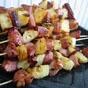 Luau Ham and Glazed Pinneapple Snacks