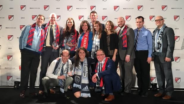 Our Alumni Darin Canova was recognized for his role with Sporting Kansas City for his success during the 2015 MLS season as Supporter Liaison Manager. http://www.sportingkc.com/post/2016/01/14/sporting-kc-garners-several-honors-2015-mls-club-executive-awards