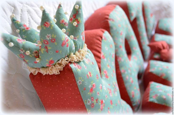 Купить Буквы-подушки цветочные - буквы-подушки, морская волна, буквы подушки, мягкие буквы