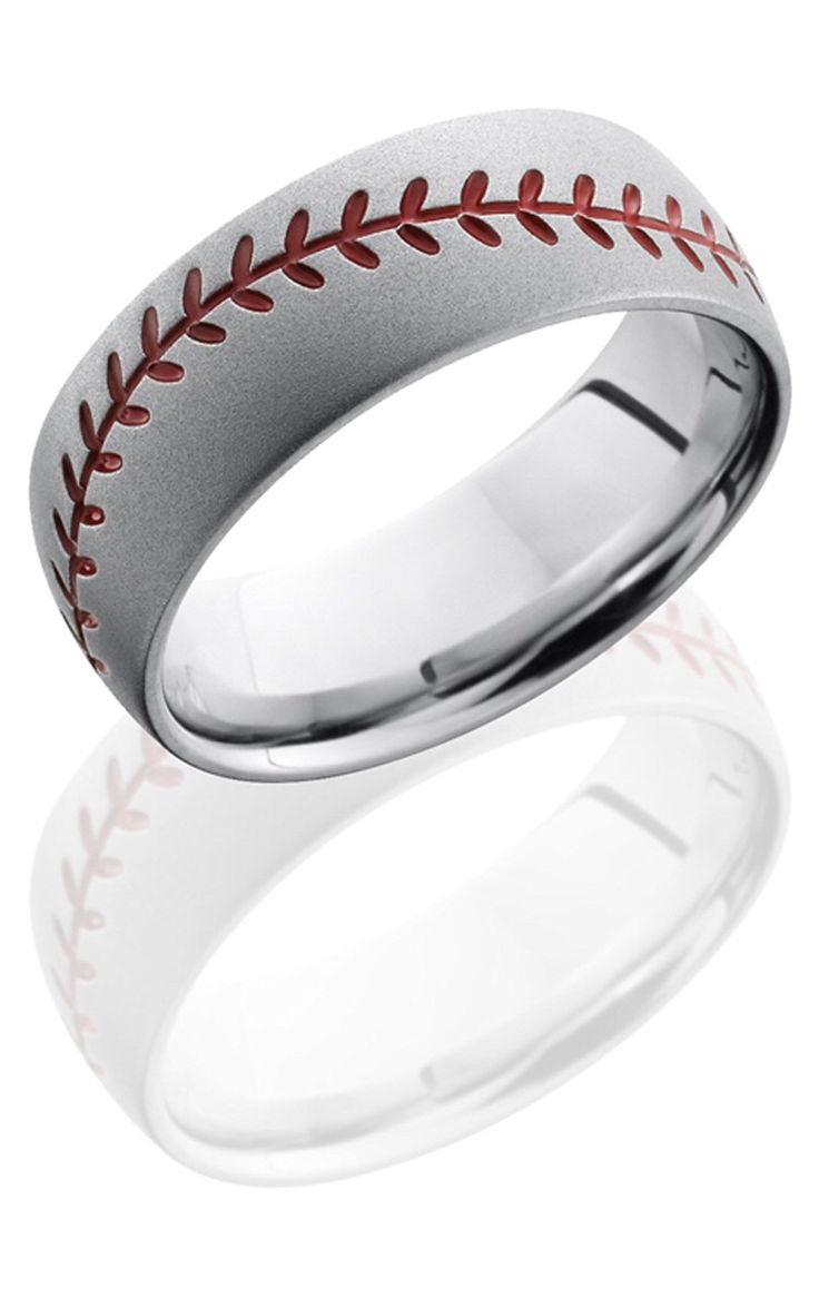I Seriously Want This As My Wedding Ring Cobalt Chrome With The Baseball  Threads