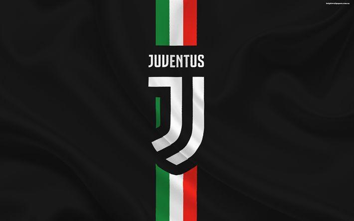 Descargar fondos de pantalla La Juventus, el fútbol, el nuevo emblema de la Juventus, de Italia, de la Serie a