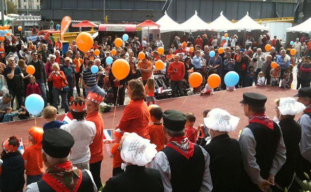 KLM Dutch Orange Day 2015 - Queensbridge Square - Around Town - Time Out Melbourne
