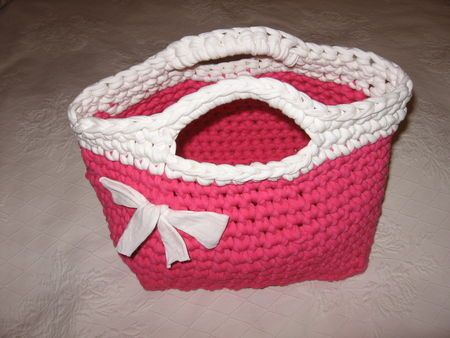 nice bag with tuto in french