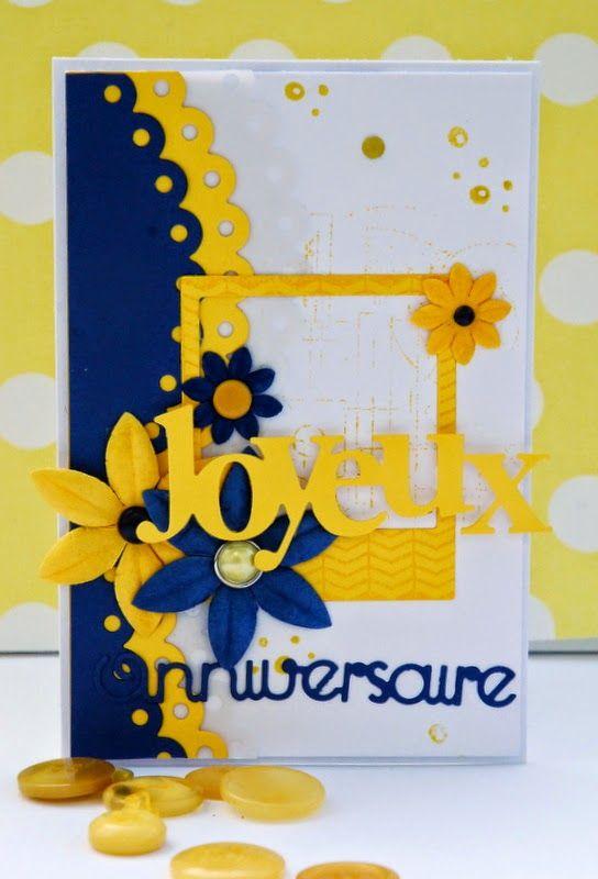 Natalia Scrap E Breizh pour Scrap à la Carte - Joyeux Anniversaire