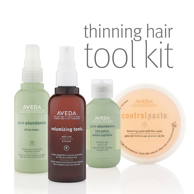 cassie's #favfriday product is aveda thickening tonic. with thin