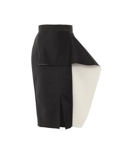 Balmont bi-colour pencil skirt | Roksanda Ilincic | MATCHESFAS...