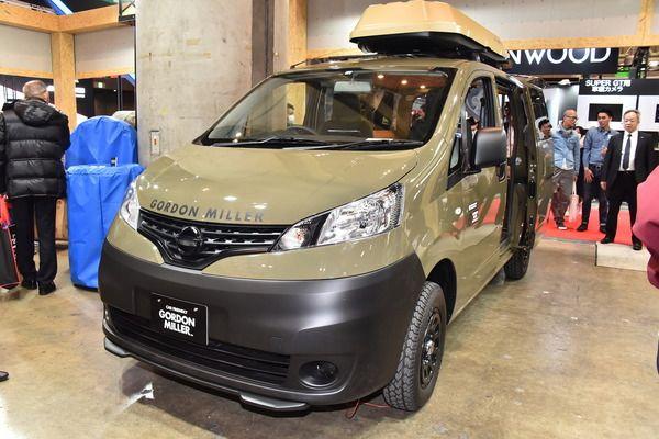 オートバックスのpb 車中泊ミニバンを市販予定 東京オートサロン2019