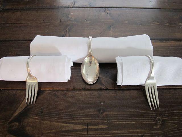 DIY Silverware Napkin Holders