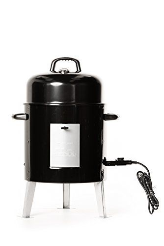The Masterbuilt Electric Bullet Smoker is perfect for the beginner or the pro. You'll achieve competition-ready results in your own backyard, without the hassle of charcoal or propane. Simply plug this smoker in, set the analog controls, and it does the work! Masterbuilt makes smoking... more details available at https://www.kitchen-dining.com/blog/grills-outdoor-cooking/outdoor-fryers-smokers/product-review-for-masterbuilt-20078616-electric-bullet-smoker/