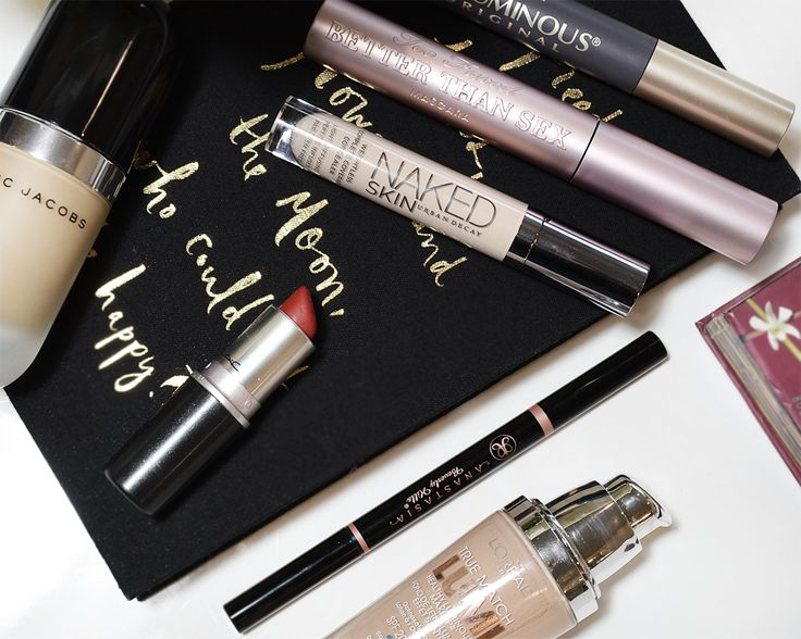 My 8 Most Repurchased Makeup Items!  | PersonallyPaige.com | @paigeeaton . #makeup #beauty #beautyblogger #toofaced #benefits #anastasiabeverlyhills #mac #rubywoo #brows #hoola #loreal #loreallumi #sephora #ulta #urbandecay #fashion #canadian