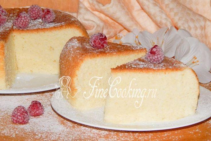 Простой бисквит в мультиварке - рецепт с фото