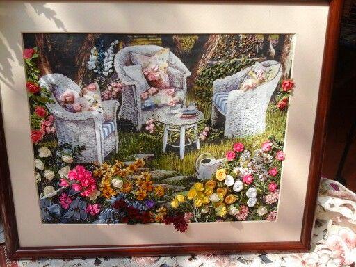 Sala con flores