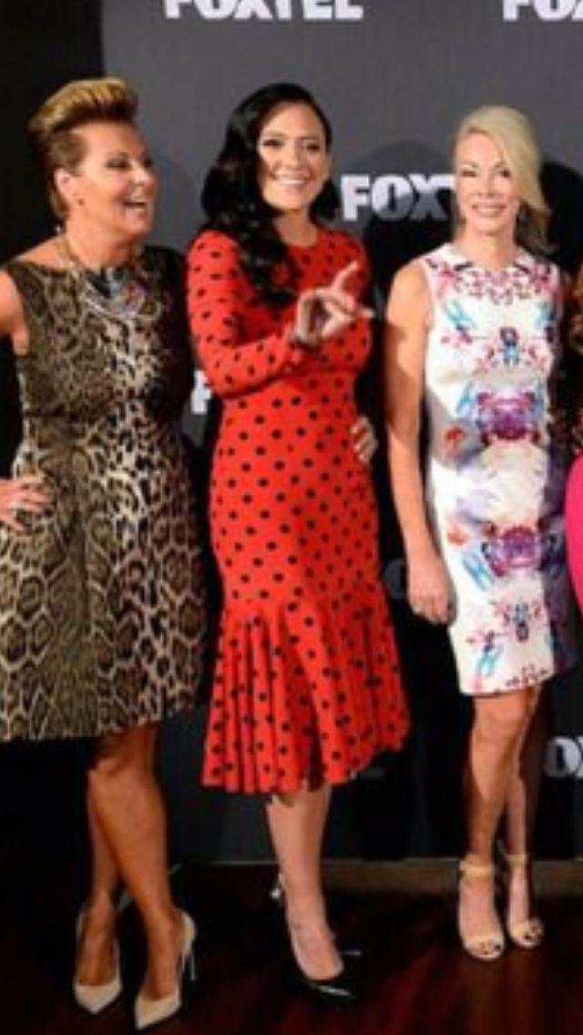 that dress tho! polka dots