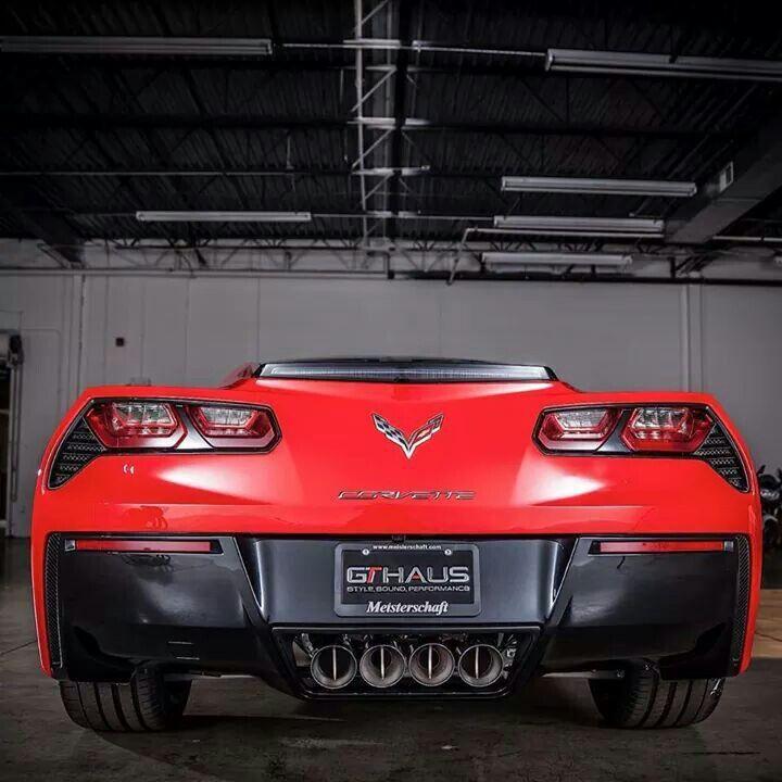 What an ass!! ;) #Corvette
